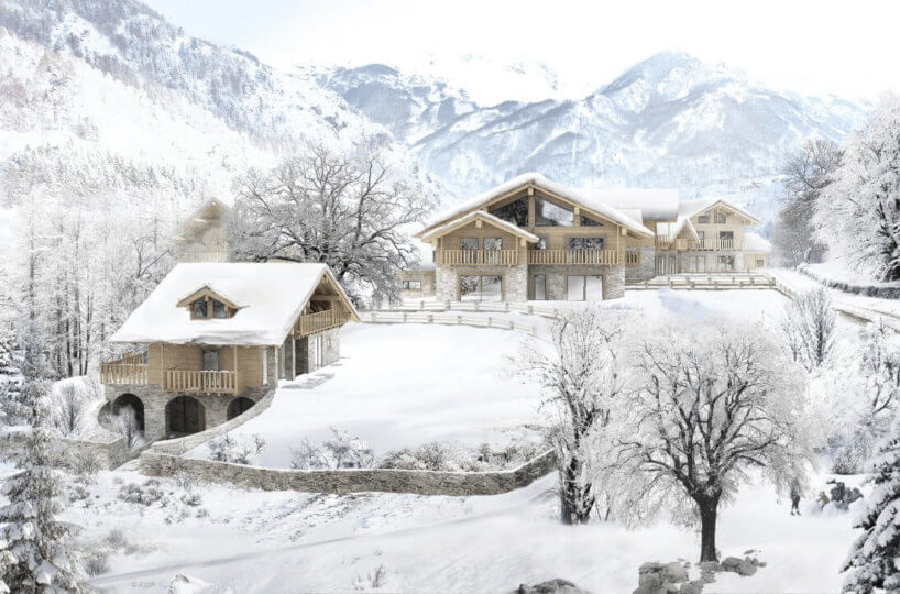 Ski Chalets Limone - Design and sale of large and beautiful ski ...